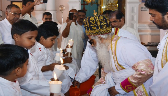 Pesha Thirunal Service by H.G. Mar. Aprem